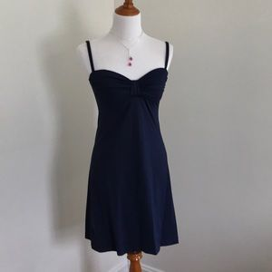Tommy Bahama Dress Navy Blue Size XS.